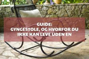 Gyngestole