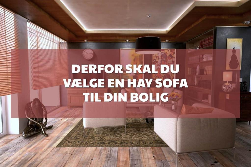 Derfor skal du vælge en Hay sofa til din bolig