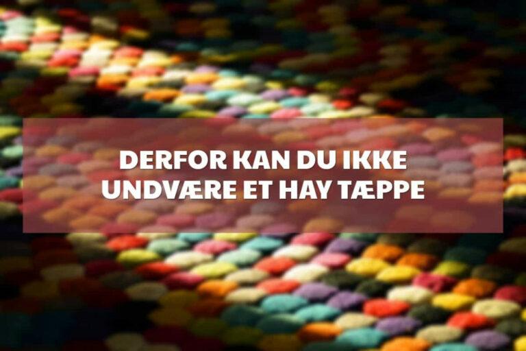 hay tæppe