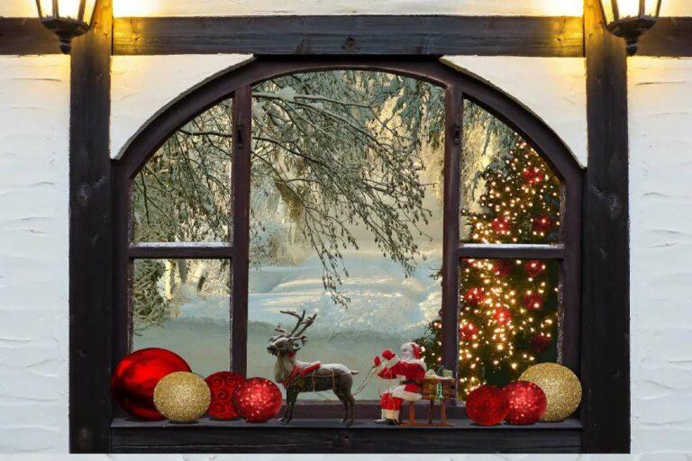 køb flot julepynt til vinduer