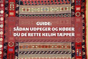 Kelim Tæpper