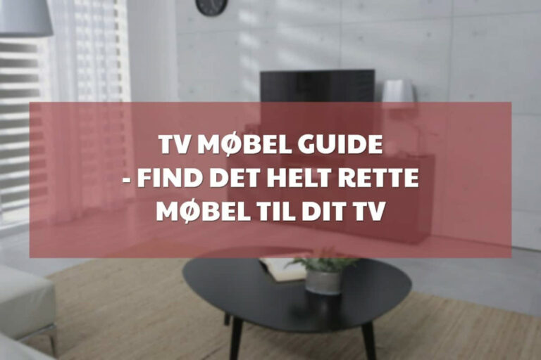 tv møbel